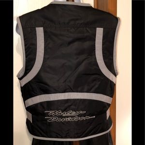 🎀 Harley Davidson women's quilted nylon vest S